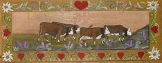 Nathalie RENZACCI - Transhumance de Vaches - Poya - Poyas de Vaches : Egarées