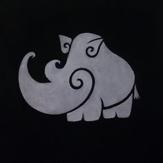 Curly Rhino Cushion or T- Shirt. 1 of 60 Curly Creatures by Jules Crowther by ShopAtJulesCrowther on Etsy