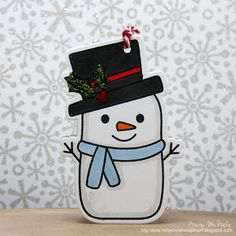Day 24 of 25 Days of Christmas Tags, wow! I cannot believe tomorrow is the last day! Today I have Jessica Davis joining me from. 25 Days Of Christmas, Christmas Gift Tags, Holiday Cards, Christmas Ornaments, Holiday Decor, 13 Days, Snowman, Snoopy, Creative