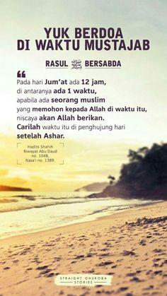 Hadith Quotes, Muslim Quotes, Prayer Quotes, Hijrah Islam, Doa Islam, Quran Quotes Inspirational, Islamic Love Quotes, Religion Quotes, Beautiful Prayers