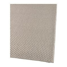 "MORUM Rug, flatwoven - 5 ' 3 ""x7 ' 7 "" - IKEA  For under the dining room table if we go for a white fluffy rug"