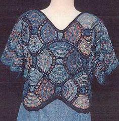 patchwork stricken und mehr spitzpatch anleitung patch work knitting patterns pinterest. Black Bedroom Furniture Sets. Home Design Ideas