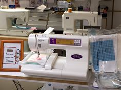 Pre-owned brother Disney Embroidery Machine includes manual, accessories along with 4 different hoops to personalize a variety of items.