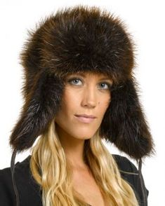 Ladies Beaver Full Fur Russian Hat Russian Hat df1e1a0ee152