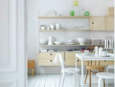 Keittiön kevät – Puuta, valkoista ja sulavia linjoja – Anna&Ellit