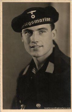 Old time trash (NSFWish) | bowlersandhighcollars:   (via 1943 Heribert, the...