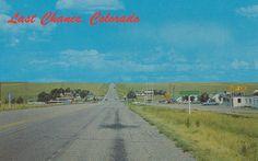 Boring Postcard #010: Last Chance, Colorado | U.S. Highway 3… | Flickr