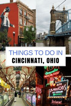 Ohio Adventures: How to Spend 48 Hours in Cincinnati, Ohio #TravelDestinationsUsaOhio