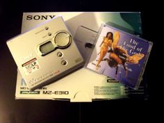 """New Minidisc Walkman for sale with a free Mini Audio Book of your choice from our Ebay Listings at """"minidiscfan"""""""