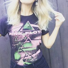 pink floyd vibez #thrifted #BandTees