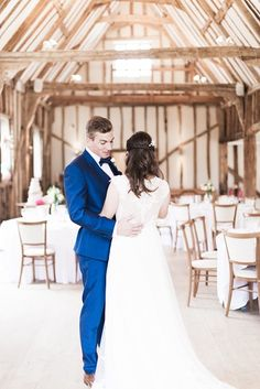 Easton Grange was the such a perfect venue for our occasions photo shoot. It's situated in the idyllic Suffolk countryside surrounded by beautiful woodland. The stunning oak-framed barns were the perfect backdrop for our photography. #eastongrange #suffolkweddingvenue #mensweddingsuit #wedding #weddingsuit #bluesuit #weddingoutfit