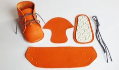 First Baby Shoes - made with your very own hands