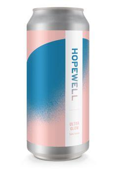 Hopewell Brewing — Ellen Wilde — Branding and Design - Portland, Oregon Beverage Packaging, Bottle Packaging, Brand Packaging, Design Packaging, Coffee Packaging, Food Packaging, Luxury Packaging, Craft Beer Labels, Wine Labels