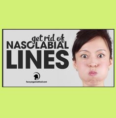 This exercise helps to get rid of nasolabial fold lines. These lines get longer and deeper as we age. Step 1 –  Fill up your mouth with air and close your mouth tight and push the air towards your lips Step 2 – Move the air to the right Step 3 – Move the air to the left Step 4 – Move the air to the upper mouth Step 5 – Move the air to the lower mouth  http://faceyogamethod.com/how-to-get-rid-of-nasolabial-lines-with-face-yoga/