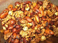 Spiced Nuts #paleo