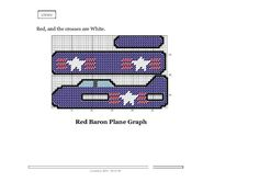 BOYS PLANE SET 1    (all of the patterns are the same plane pattern with differend colors and designs)