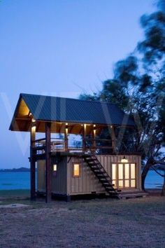 Container House - Holiday Cabana Maduru Oya Sri lanka Damith Premathilake Architecture Lake House using shipping container: - Who Else Wants Simple Step-By-Step Plans To Design And Build A Container Home From Scratch?