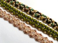 Make This Quick Bracelet with Two-holed Seed Beads - Beading Daily  ~ Seed Bead Tutorials