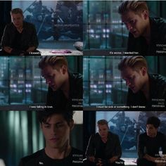 Season 1 Episode 12: Jace and Alec not sick