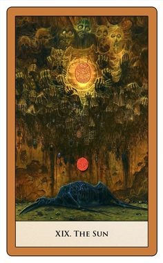 If Zdzislaw Beksinski had designed a Tarot deck, it would have been epic. - Album on Imgur