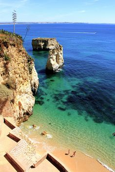 Geometric beach _ Lagos, Algarve  Portugal