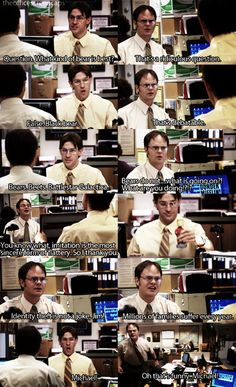 The Office | Jim and Dwight