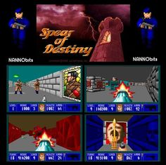 Spear of Destiny...20 years old! Those were the days my friends! Tell Everyone You Know...NANNObits is the way to go!  #gaming #PC #computer