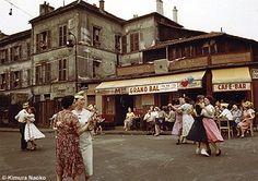 Kimura Ihei in Paris: Photographs, Contemporary Photographers, Best Photographers, Japanese Photography, Japan Photo, Tour Eiffel, Color Photography, French Vintage, Vintage Photos, Documentaries