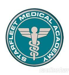 Star Trek Starfleet Medical Academy Button