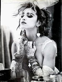 Madonna was the queen of the 80's! She was my absolute favorite & her True Blue tour was my 1st concert (thanks Mom!)
