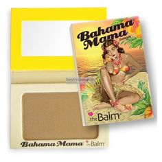 For a fresh-off-the-beach glow! This matte bronzer gives you natural, sun-kissed skin without orange undertones, and doubles as the perfect contour powder, neutral brow-filler and eyeshadow. The Balm Bronzer, Best Bronzer, The Balm Bahama Mama, Bahama Mama Bronzer, How To Apply Blusher, Beach Glow, Blusher Makeup, Light Contouring, Summer Glow