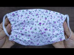 Face Mask Sewing Tutorial How to sew a Face Mask Cloth Face Mask No Sewing Machine Sewing Patterns Free, Sewing Tutorials, Sewing Hacks, Sewing Projects, Pattern Sewing, Free Pattern, Easy Face Masks, Diy Face Mask, Crochet Mask