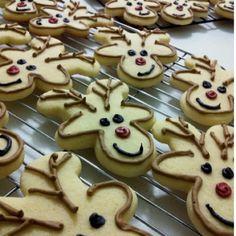 Upside down Gingerbread Man = Reindeer!