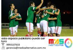 Mexico consigue su pase al Mundial Sub-20 al vence 3-1 a El Salvador