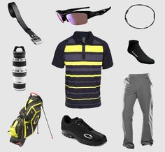 Dress Like #1: Oakley Golf Gear Dress like the #1 golfer in the world if even if you can't have his game. Who knows... maybe you'll attract a smoking hot 21 year-old superstar.