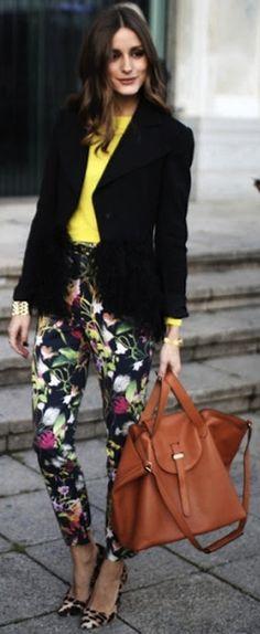 Black Blazer Olivia Palermo