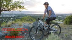 Watch Parker, an amputee who lost his leg in a motorcycle accident, use Maglock Pedals to bike