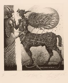 Contemporary Belarusian printmaker Roman Sustov, etchings, lithographs, ex libris prints. Prints and biography. Ex Libris, Art And Illustration, Locuciones Latinas, Arte Horror, Gravure, Surreal Art, Figurative Art, Dark Art, Fiber Art
