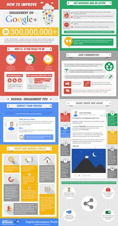 How To Improve Engagement on Google+ [INFOGRAPHIC]
