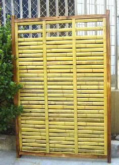 Bamboo Privacy Fencing
