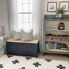Designed by @megmakesitpretty Rug Cleaning, Wool Rug, White Rugs, Area Rugs, Storage, Boutique, Furniture, Design, Home Decor
