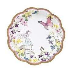 Fairy Plates will give a magical touch your Fairy birthday Party! They have a gorgeous floral and butterflies fairy design and are perfect for a Girl Birthday Party! Fairy Birthday Party, Girl Birthday, Rainbow Birthday, Pastel, Butterfly Fairy, Party Plates, A 17, Plate Sets, Vintage Paper