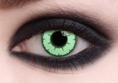 Black Hole Special Effects contact lenses - black covers the iris for a spooky effect. Great for Halloween and other special events. A very popular style of lens, also available in prescription powers. Contact Lenses Price, Special Effect Contact Lenses, Black Contact Lenses, Color Contacts For Halloween, Halloween Eye Makeup, Halloween Eyes, Halloween Costumes, Cheap Halloween, Halloween Party
