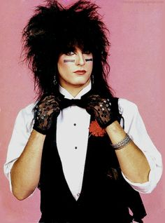 Nikki Sixx  - 80's Hair