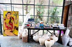 chic eclectic home art studio design and decor ideas  xxxx Bella Donna'sLuxury Designs