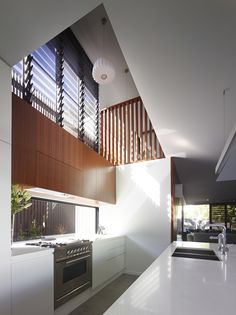 The Sunshine Beach House, a single family home in Queensland, Australia designed by Shaun Lockyer Architects. This modern home called 'Sunshine Beach Beach House Kitchens, Home Kitchens, Beach House Pictures, Contemporary Beach House, Interior Architecture, Interior Design, Minimalist Kitchen, Luxury Kitchens, Cool House Designs