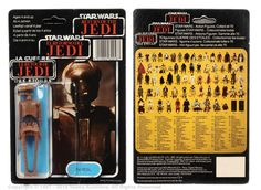 "Craig Stevens Palitoy Star Wars 3 3/4"" Figure Collection 