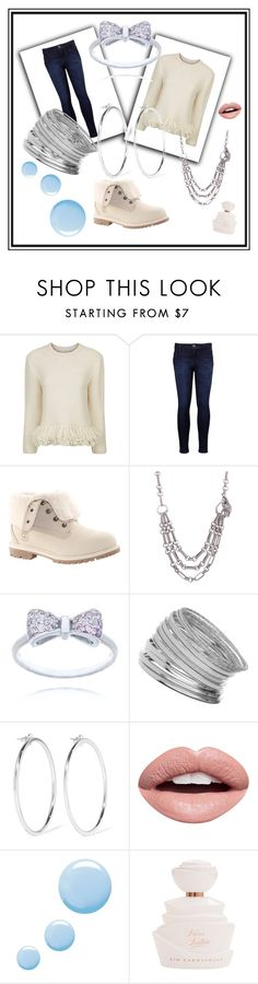 """""""Untitled #626"""" by bamagirl0320 ❤ liked on Polyvore featuring Vanessa Bruno, Levi's, Timberland, Miss Selfridge, Jennifer Fisher, Nevermind and Topshop"""