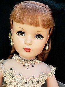 RARE Vintage Madame Alexander 1940's Kathryn Grayson Doll All Original | eBay