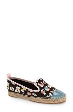 2e1c403b487f Fendi  Junia  Espadrille Flat (Women) available at  Nordstrom All About  Shoes